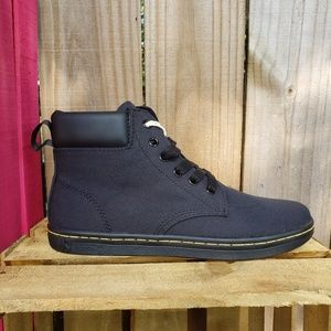 Dr. Martens Black Maellt Canvas Sneakers Size 9